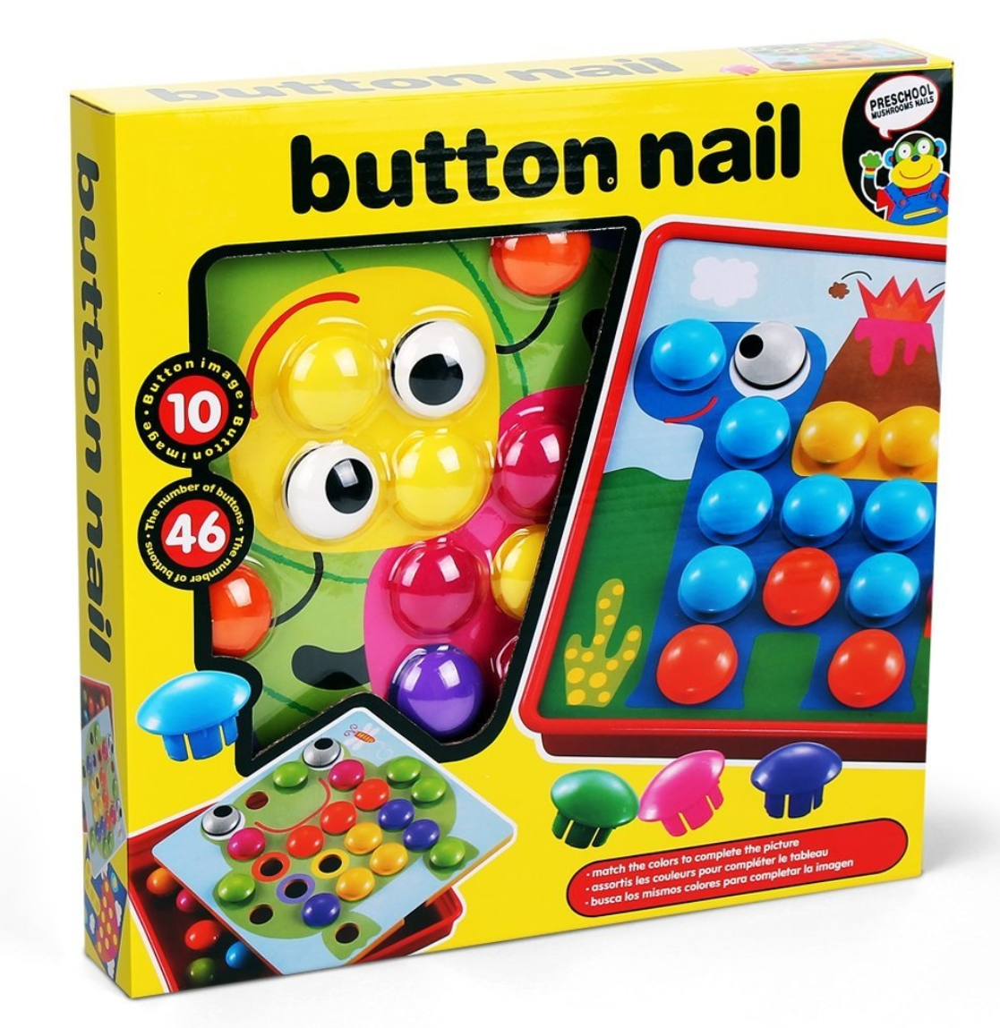 Game on nail