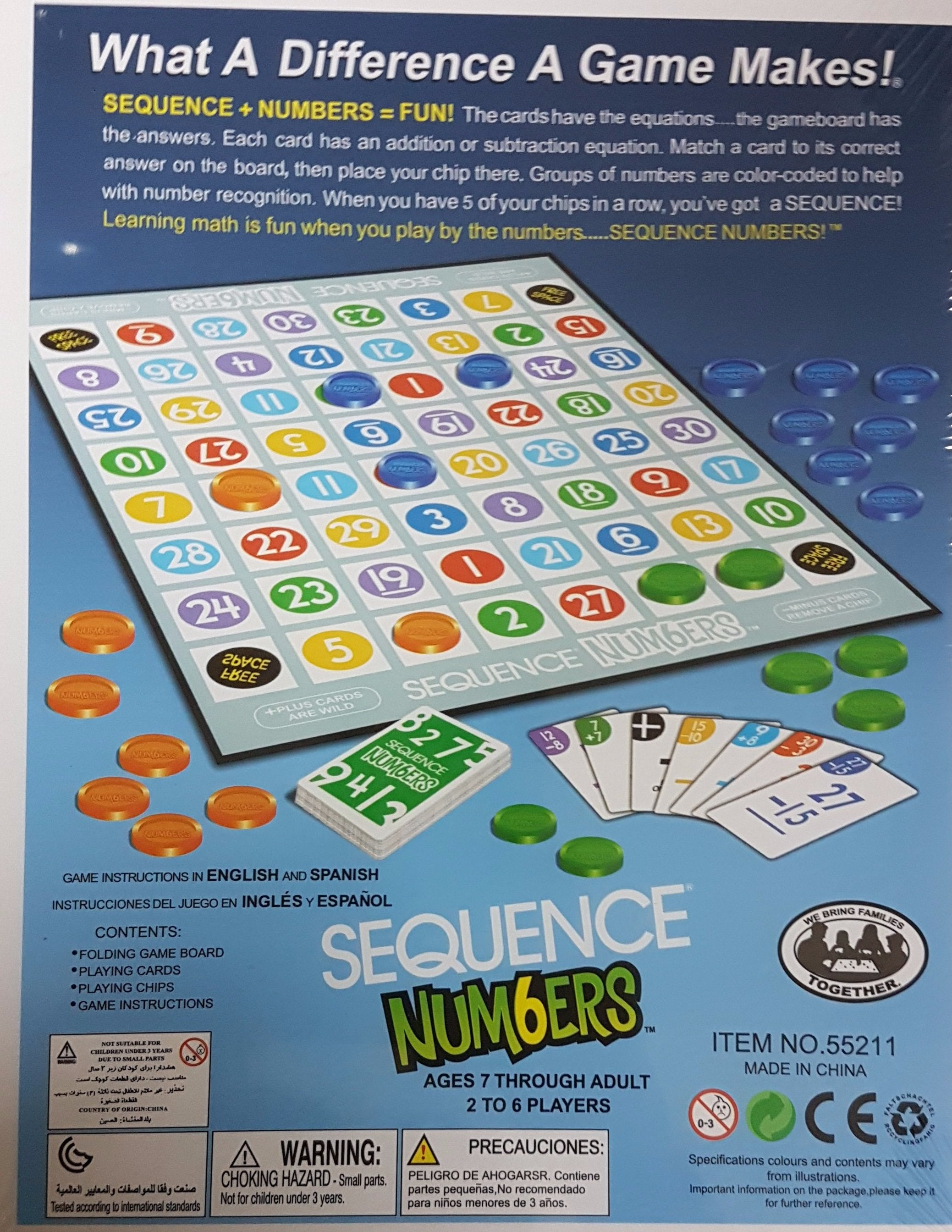 Sequence Numbers Game Righttolearn