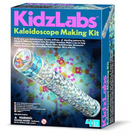 how to make a kaleidoscope with 3 mirrors