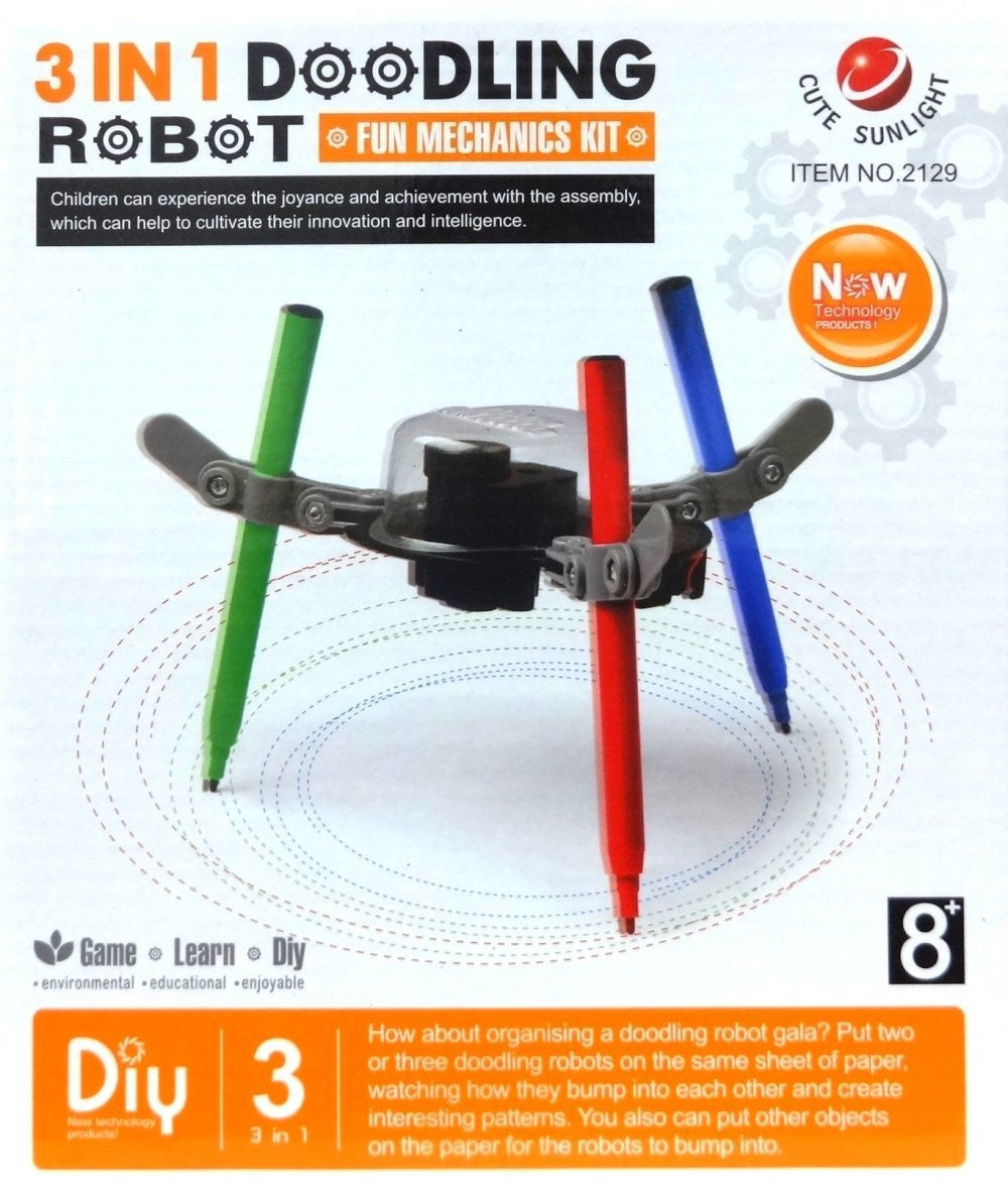 6 in 1 educational solar robot kit righttolearn 3 in 1 doodling robot fun mechanics kit solutioingenieria Gallery