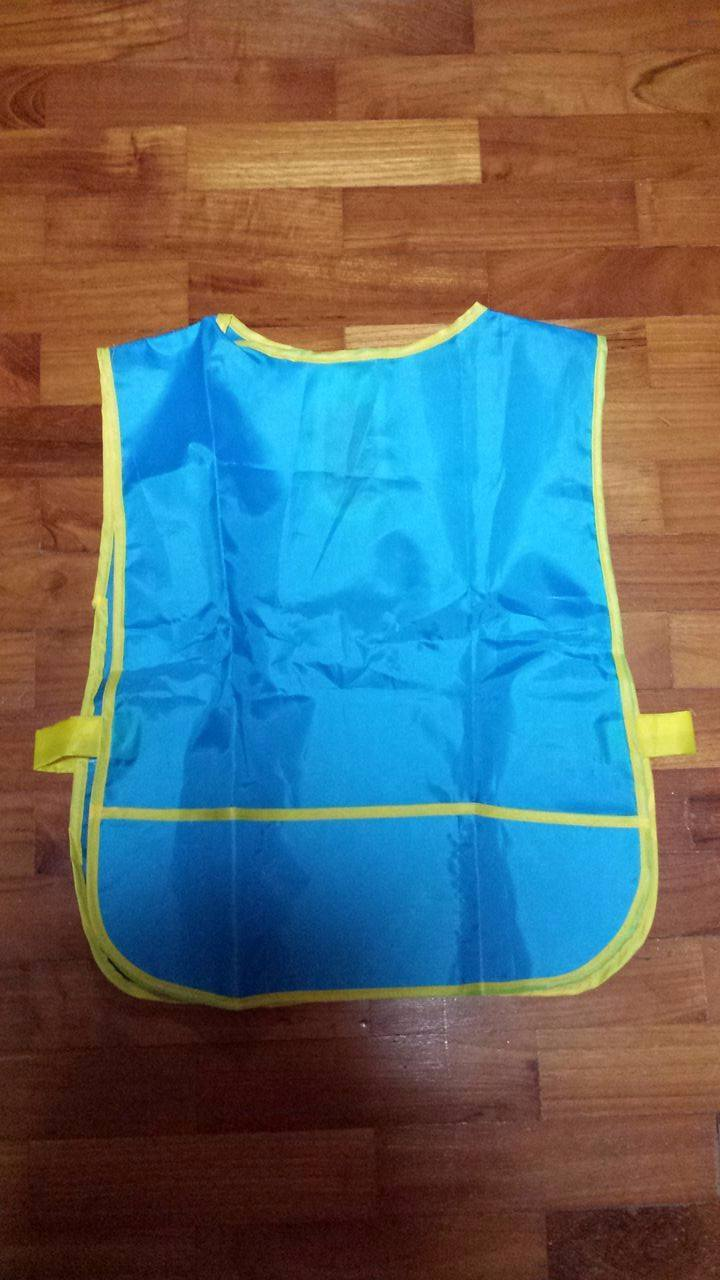 Plastic Apron For Art Amp Craft Pull On Toddler Size