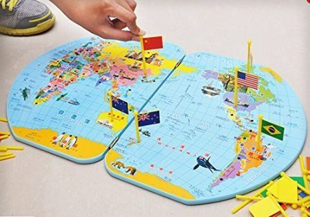 World map with world flags bilingual righttolearn world map with world flags bilingual righttolearn 5 gumiabroncs Gallery