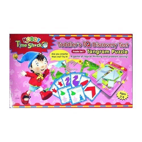 Noddy Time Shock - Puzzle set 1 - Tangram - - RightToLearn
