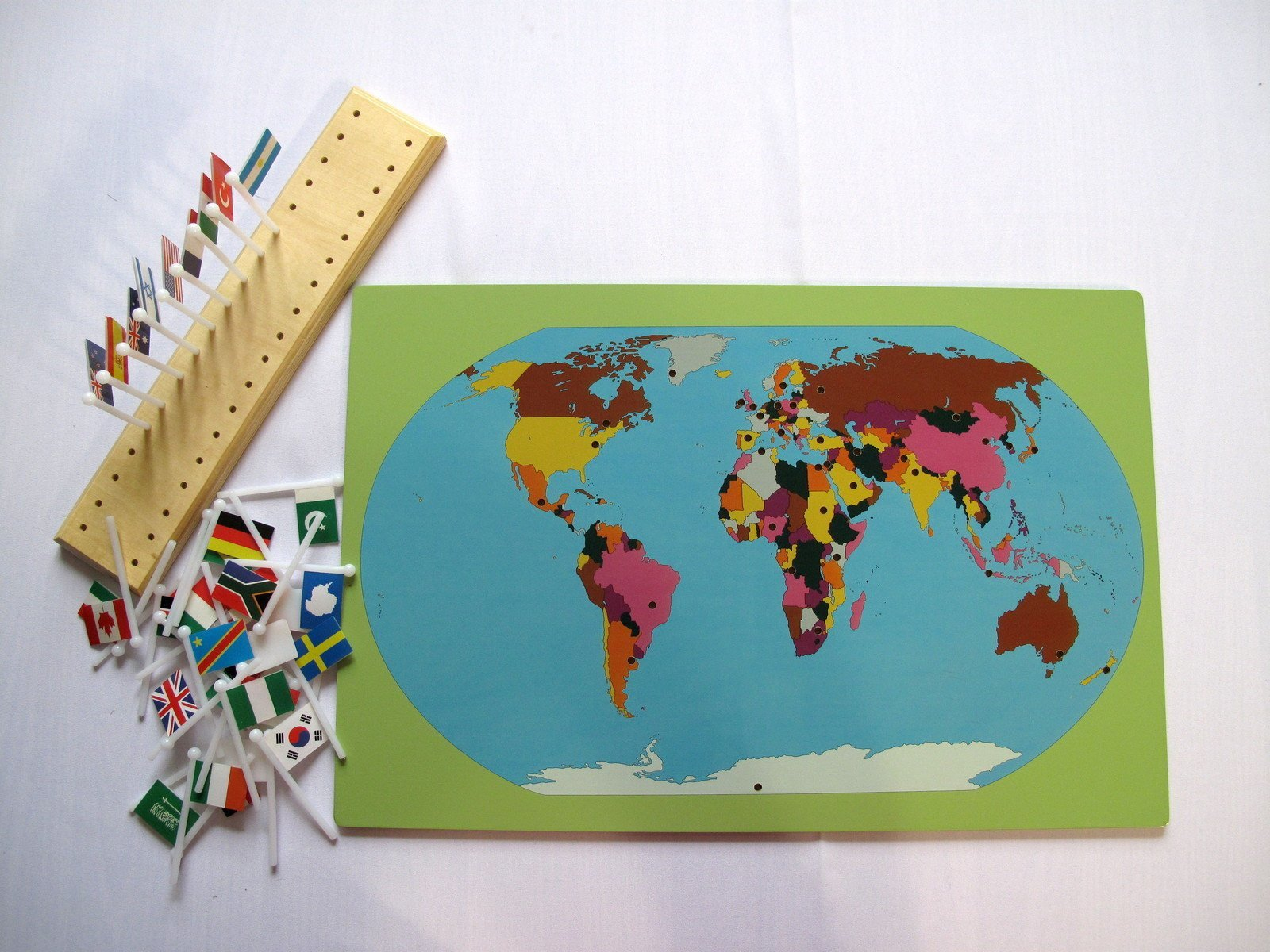 Montessori map with world flags righttolearn montessori map with world flags righttolearn 2 gumiabroncs Choice Image
