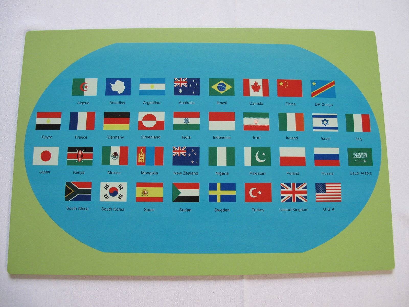 Montessori map with world flags righttolearn montessori map with world flags righttolearn 4 gumiabroncs Gallery