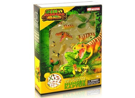 Science kits righttolearn 4d famemaster diy dino diorama hungry raptor righttolearn solutioingenieria Gallery