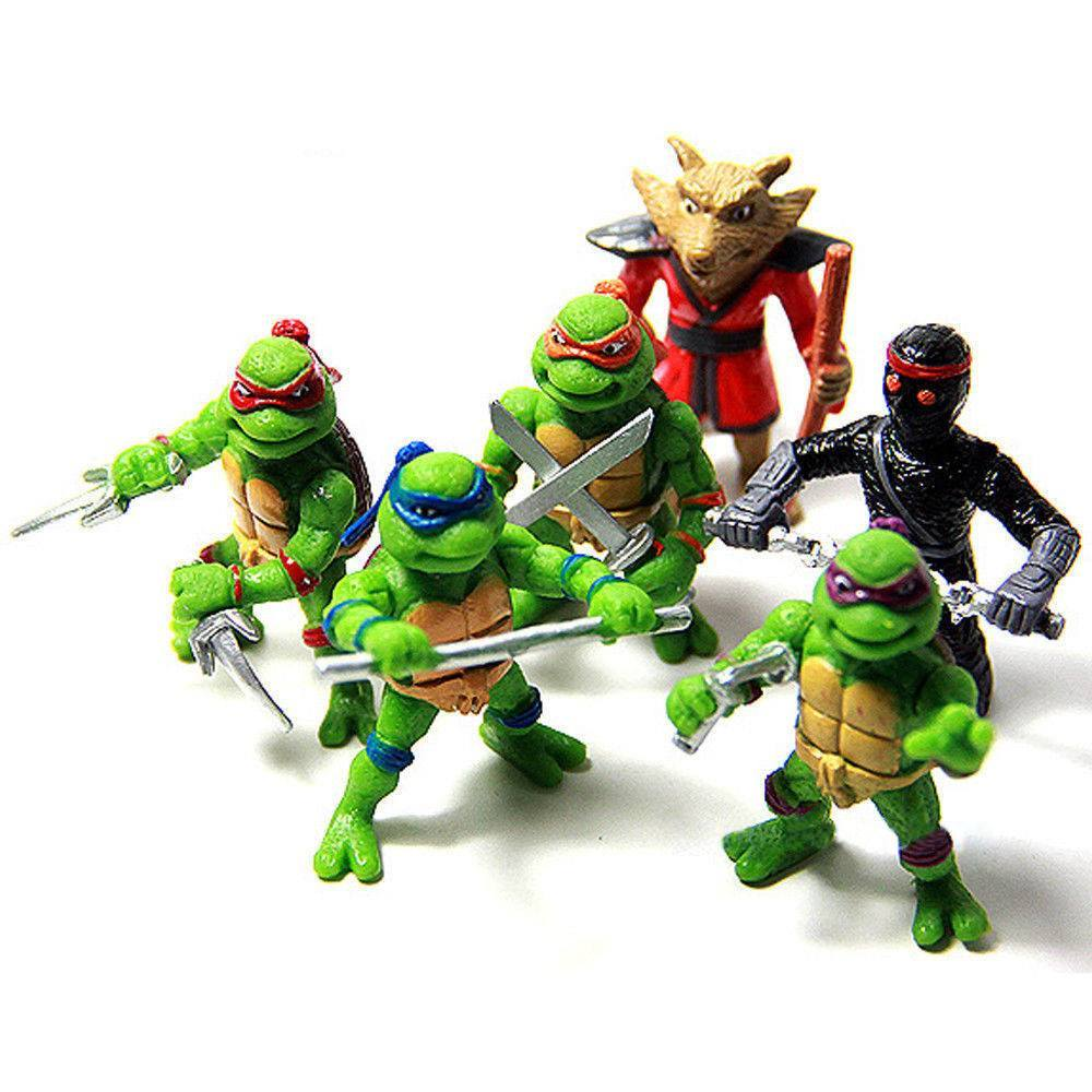 Where Can I Find Ninja Turtle Toys : Teenage mutant ninja turtles action characters