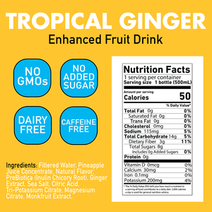 Tropical Ginger 6-Pack