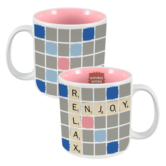 Hasbro Gaming Scrabble Ceramic Mug