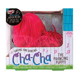 Cha-Cha The Prancing Pup Interactive Plush Puppy