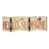 """Hello Sunshine"" Accordion Sign"