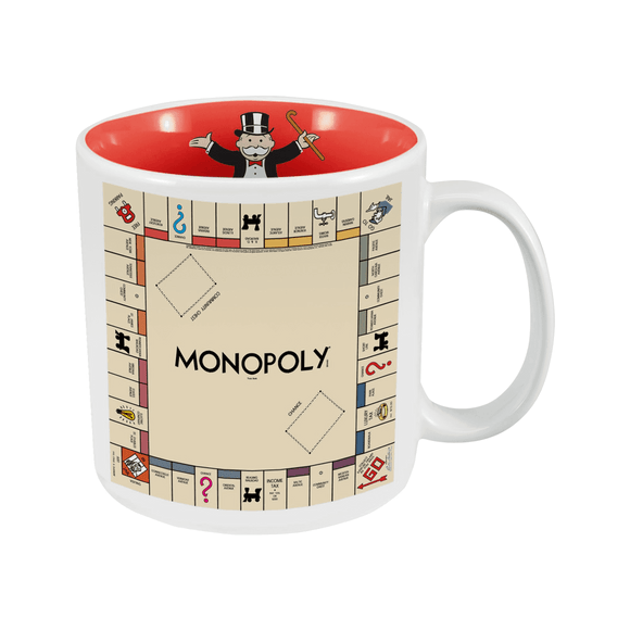 Monopoly Game Board Mug