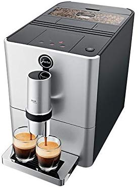 Micro Automatic Coffee Machine in Silver