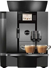 Image of Professional Automatic Coffee Machine in Silver