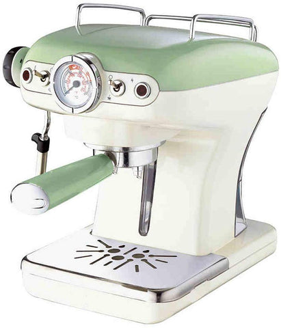 Retro Design Espresso Machine w/ Removable Water Tank