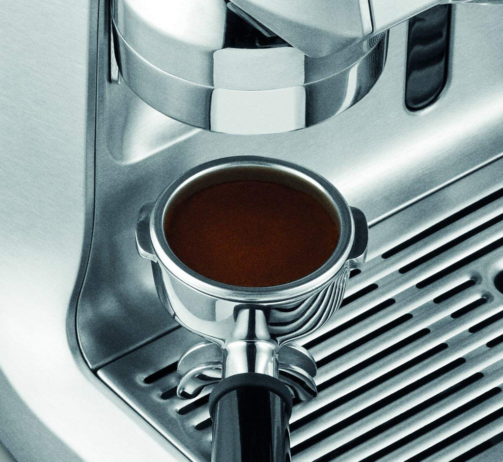 Programmable Espresso Machine in Brushed Stainless Steel