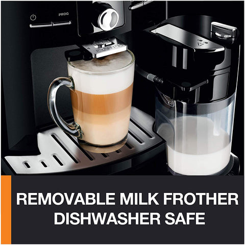 Fully Automatic Integrated Milk Froth Machine Black