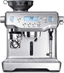 Image of Programmable Espresso Machine in Brushed Stainless Steel