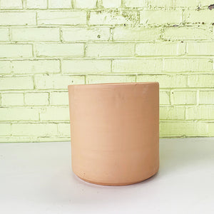 Deep Cylinder Planter Buff Clay