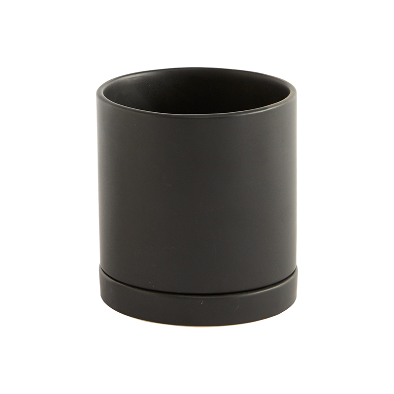 Romey Planter Black