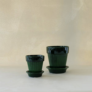 Simona Planter Emerald Green