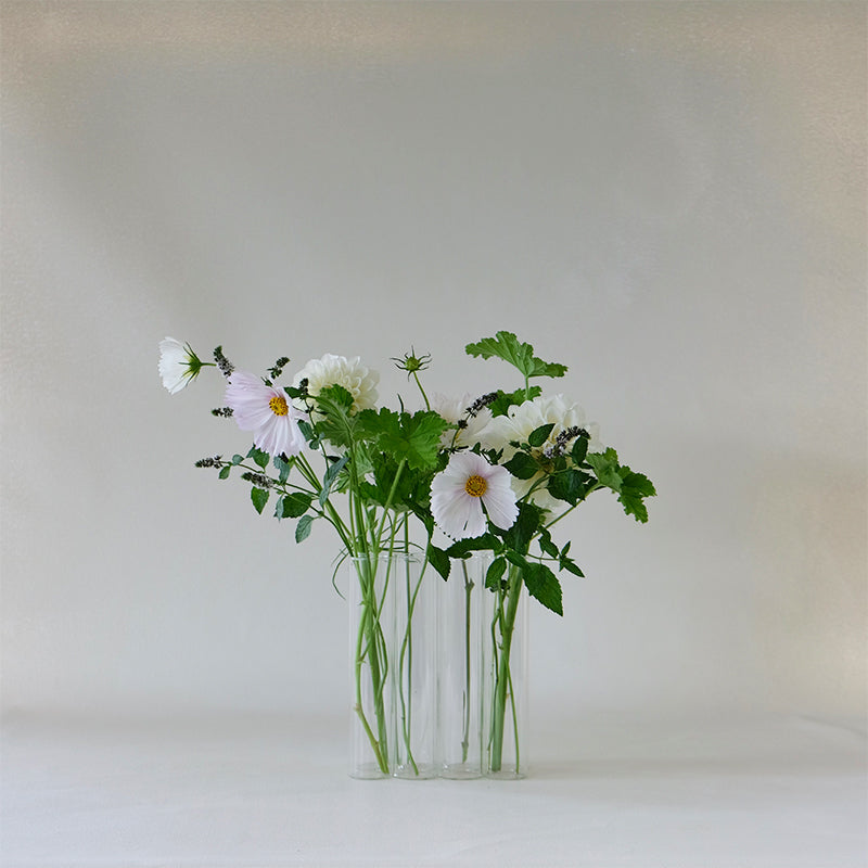 Connected Test Tube Vase