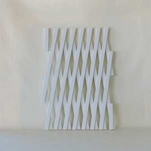 Expandable White Trellis