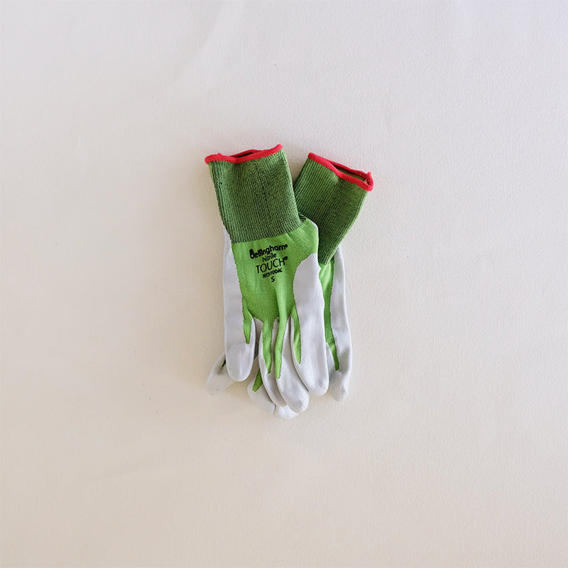Nitrile Touch Gloves Green