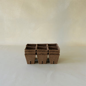 Peat Pot 6 Pack