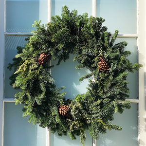 Mixed Noble Wreath 28""
