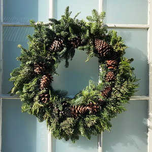 Multicone Wreath 24""
