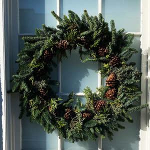 Multicone Wreath 30""