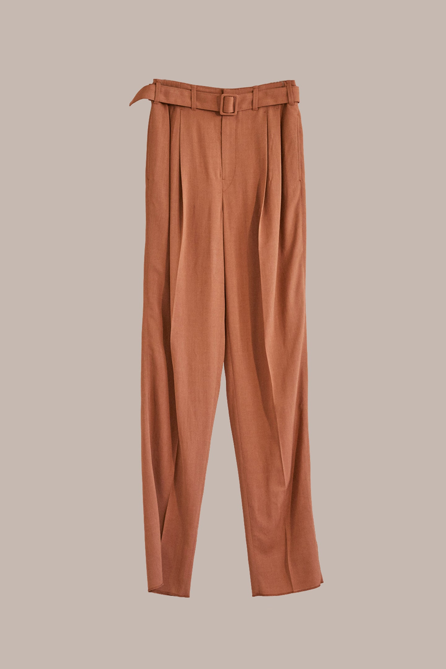 Lemaire, Pleated Trousers Copper