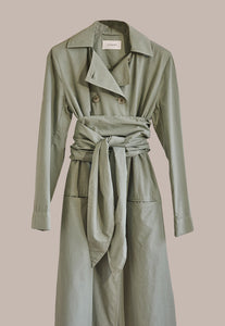 Lemaire, Trench Dress Khaki Grey