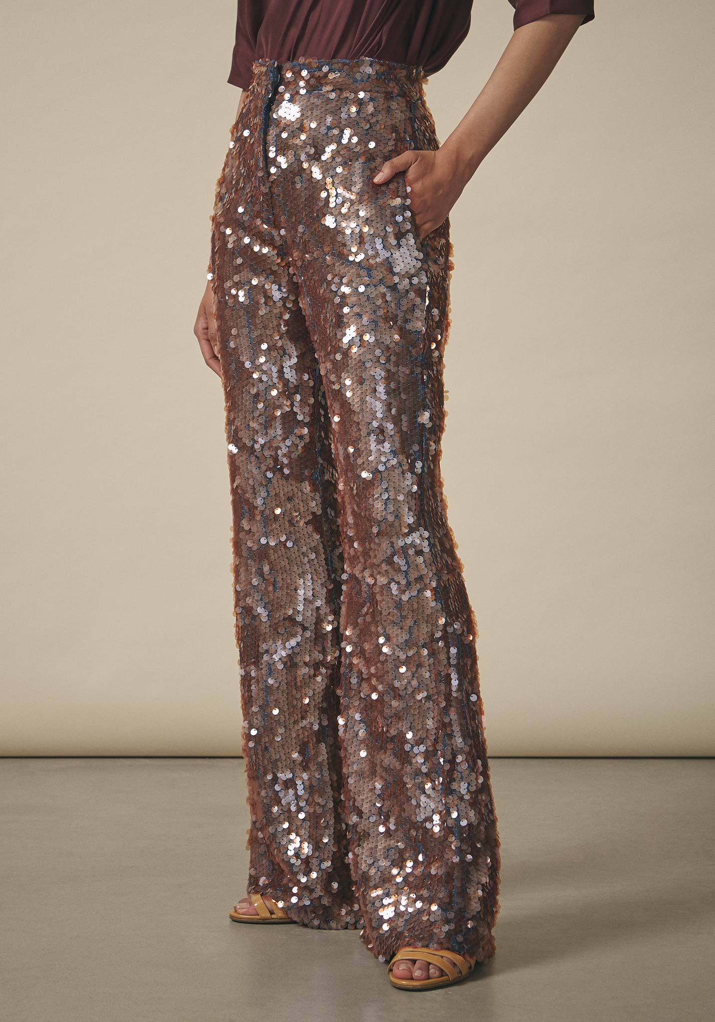 Dhruv Kapoor, Sequin Trousers