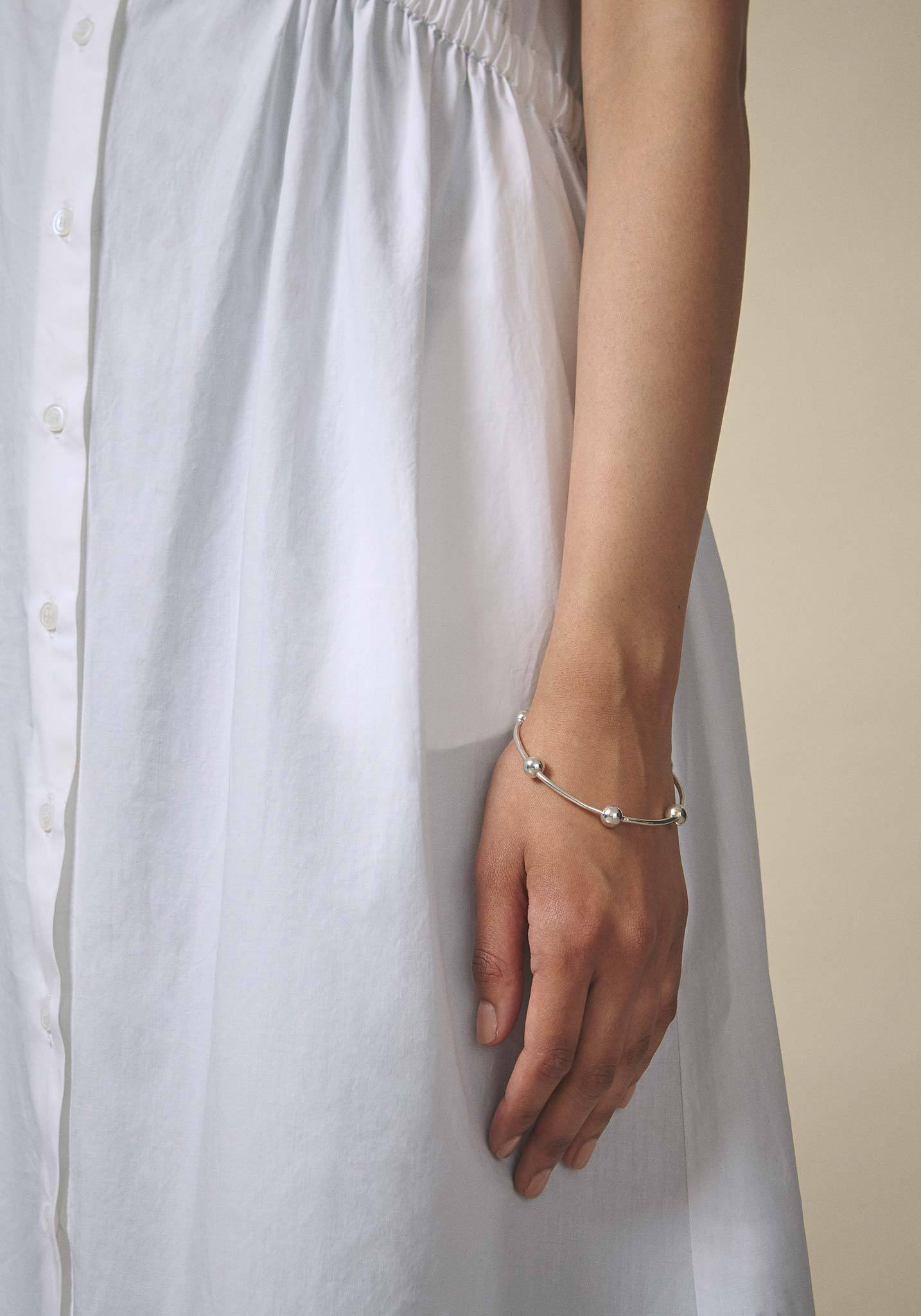 Zohra Rahman, Sterling Silver Grill Churi Bangle