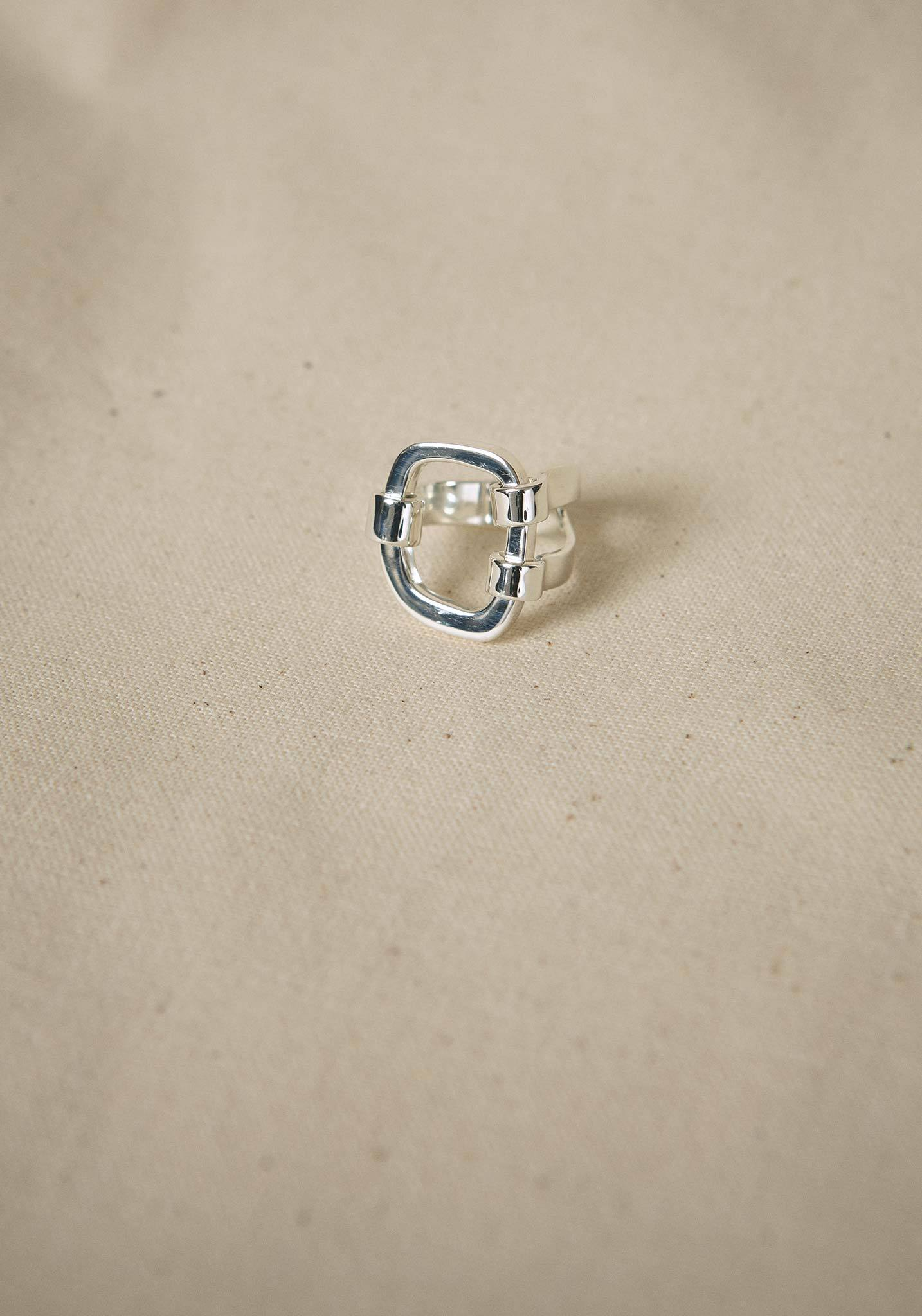 Zohra Rahman, Sterling Silver Hatch Ring