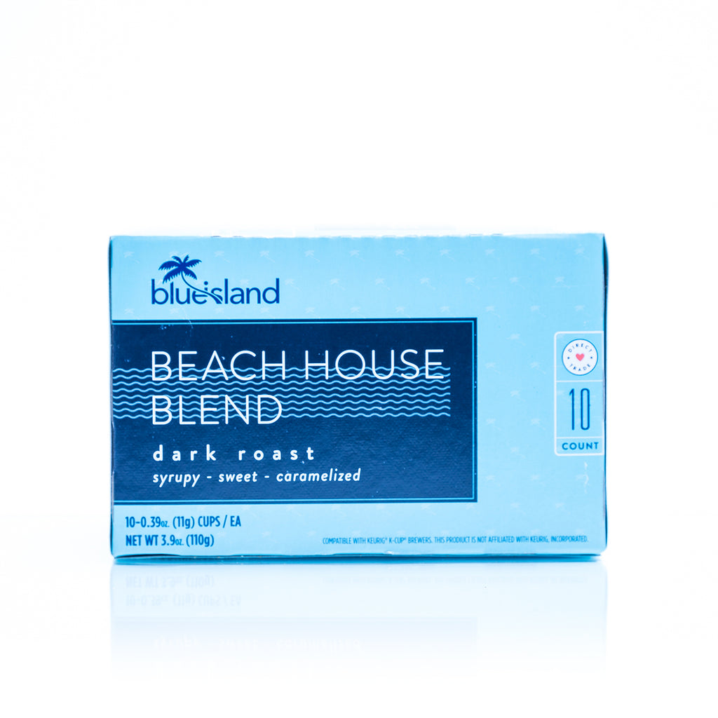Beach House Blend Recyclable K-Cups (Dark Roast) - Blue Island Coffee
