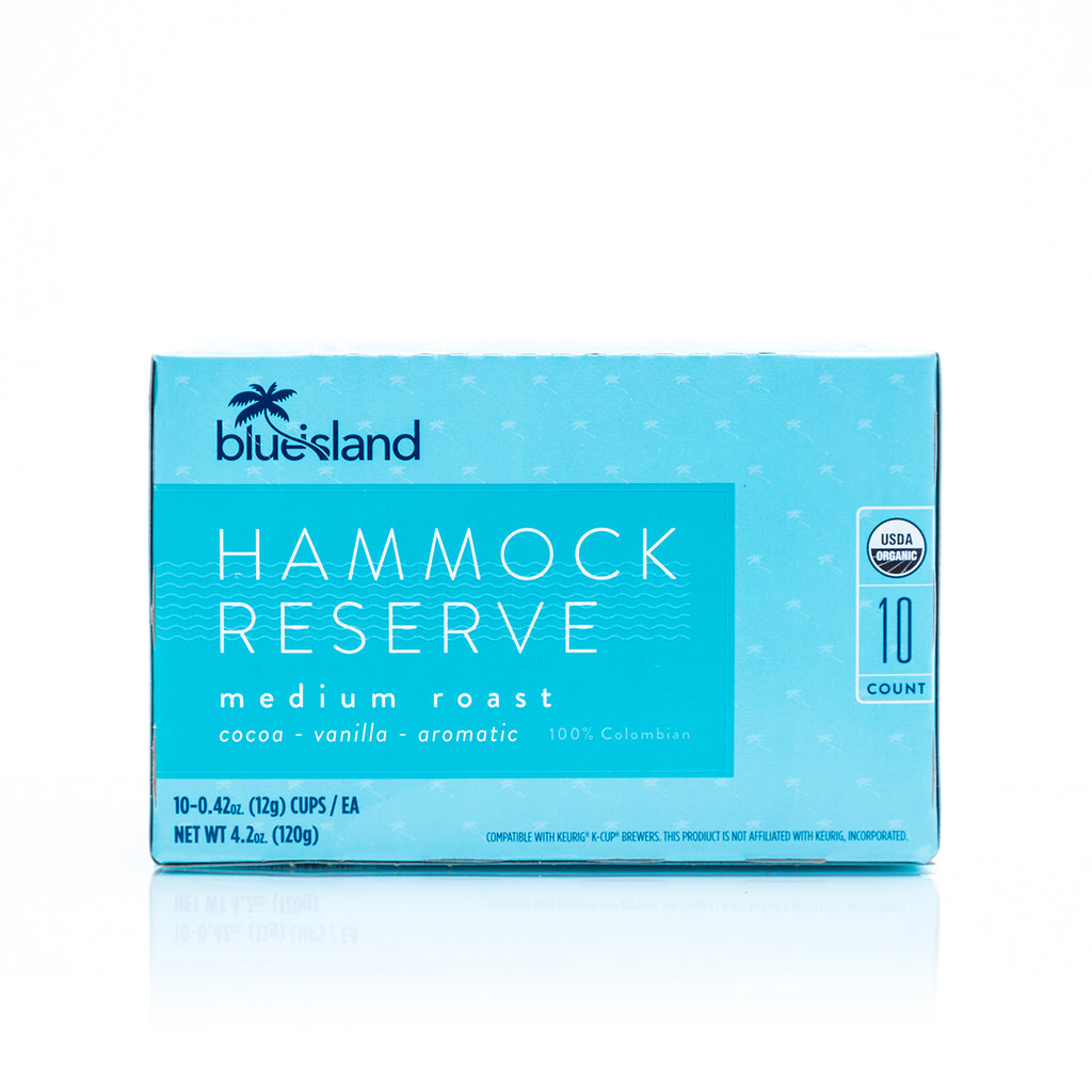 Hammock Reserve Recyclable K-Cups - Blue Island Coffee