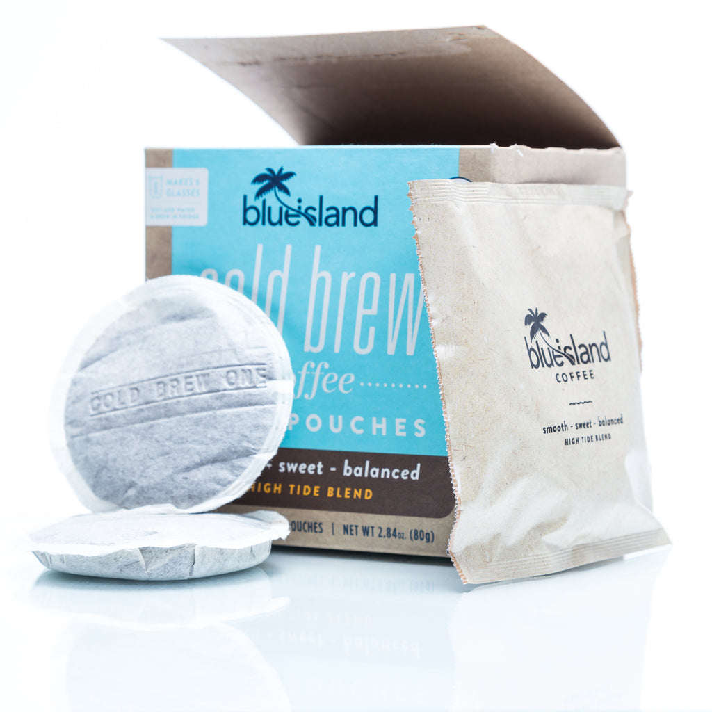 BULK BUY: High Tide Cold Brew Pouches Case (4/6 ct) - Blue Island Coffee