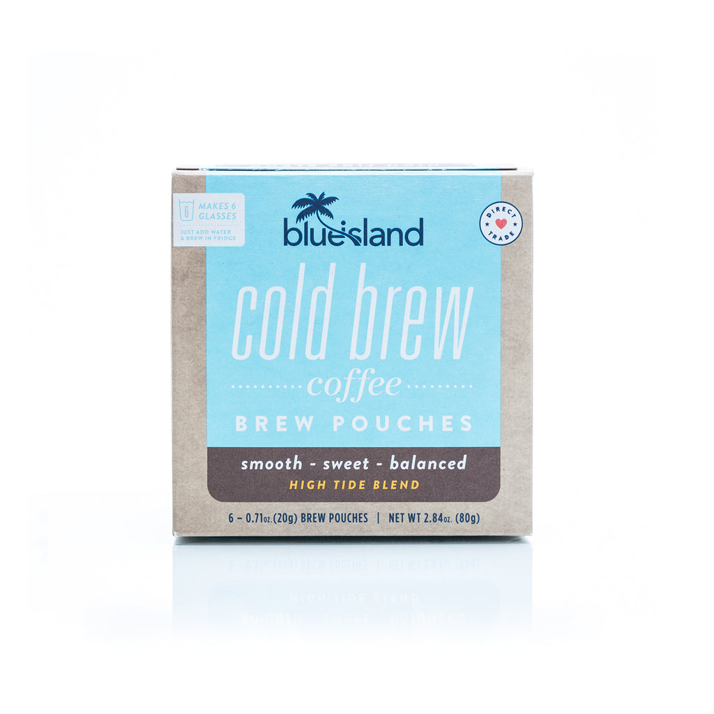 High Tide Cold Brew Pouches - Blue Island Coffee