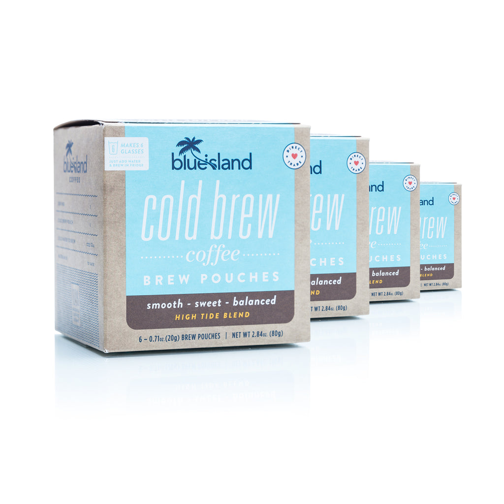 Bulk Buy: High Tide Cold Brew Pouches - Blue Island Coffee