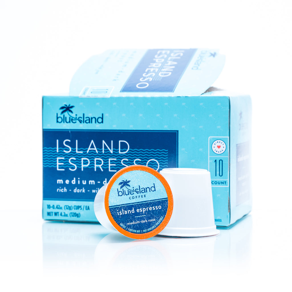 Island Espresso Recyclable K-Cups - Blue Island Coffee