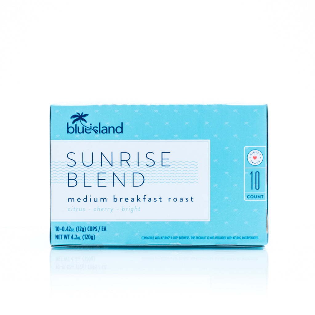 Sunrise Blend Recyclable K-Cups (Breakfast Roast) - Blue Island Coffee