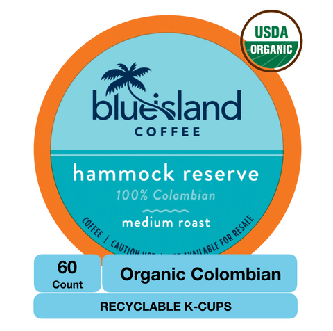 BULK BUY: Hammock Reserve Recyclable K-Cups - Blue Island Coffee