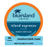 BULK BUY: Island Espresso Recyclable K-Cups (60 K-Cups)