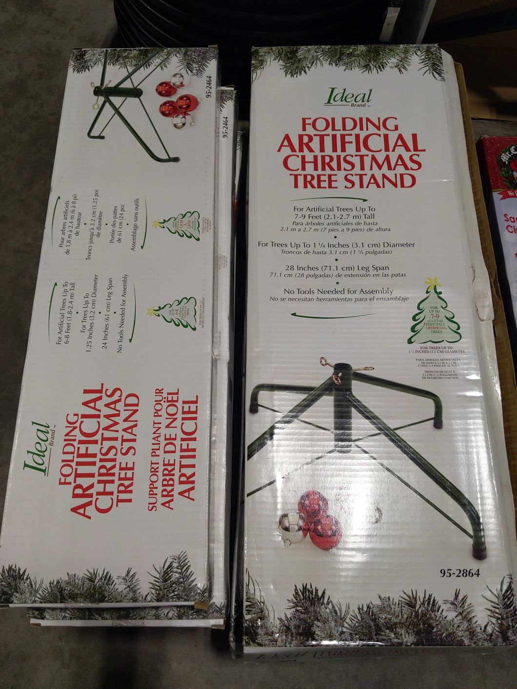 Ideal Folding Christmas Tree Stand