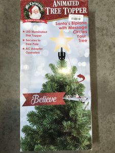 Animated tree topper - Kenner Habitat for Humanity ReStore