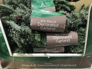 Decorated Garland - Kenner Habitat for Humanity ReStore