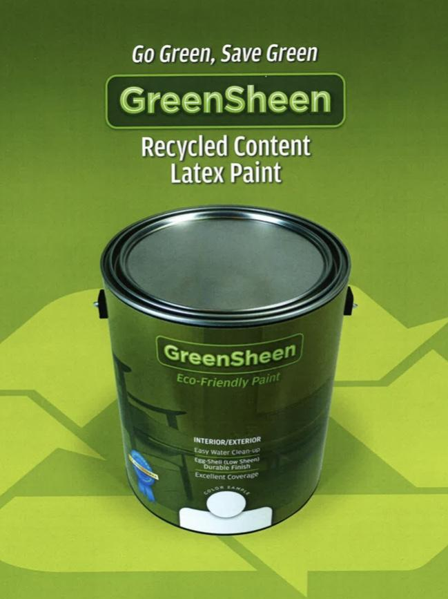 GreenSheen Latex Paint - 1 Gallon Can - Kenner Habitat for Humanity ReStore
